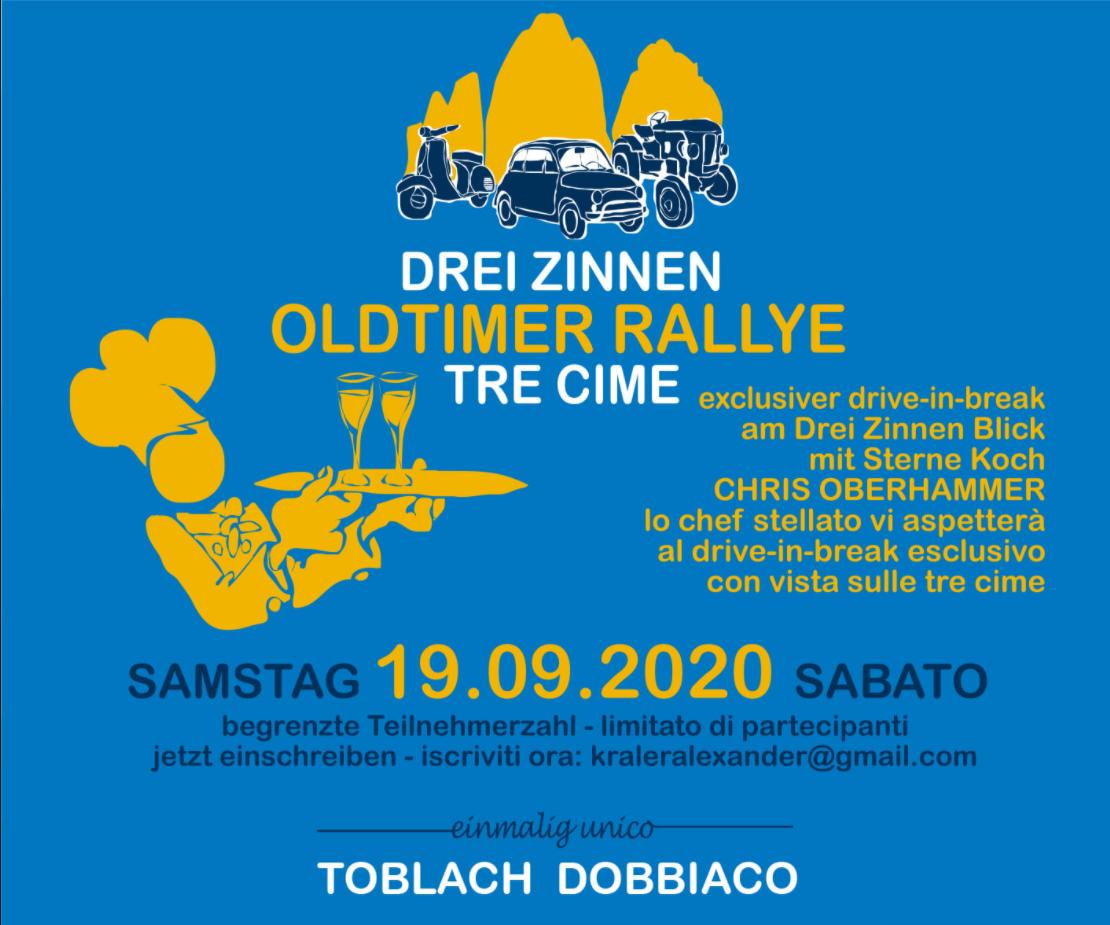 Drei Zinnen Oldtimer Rallye Tre Cime